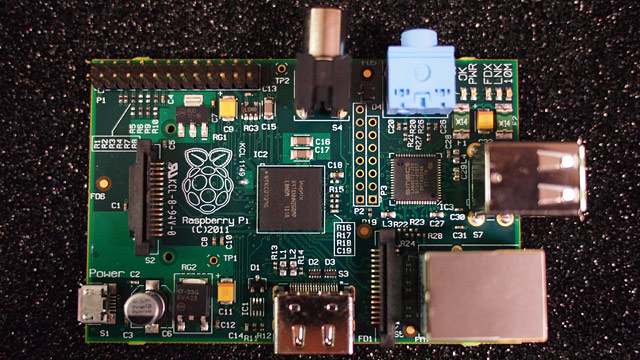 PHOTO: The Raspberry Pi is a $25 computer.