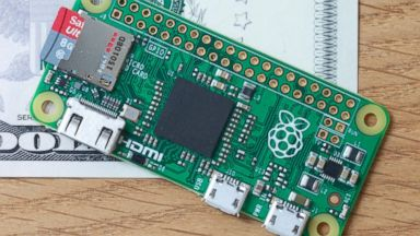 PHOTO: The official Raspberry Pi blog announced the five-dollar Raspberry Pi Zero computer on Nov. 26, 2015.