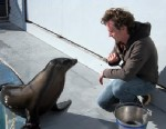 PHOTO: Ronan the sea lion was trained by Peter Cook and colleges to bob her head in rhythm with music.