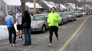 PHOTO Barefoot runners say they?re part of a movement, critics say it?s a fad.