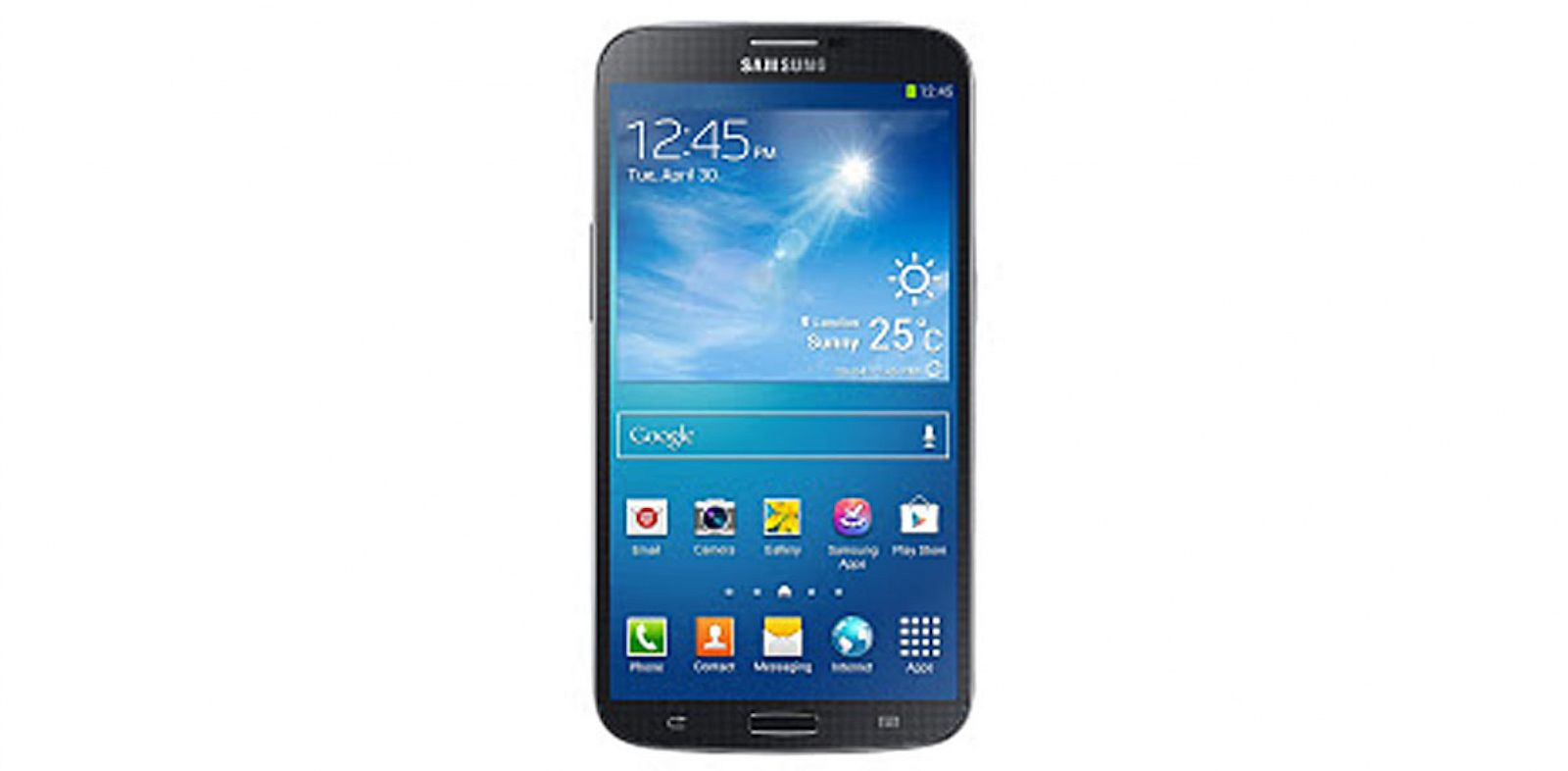 PHOTO: Samsung will be releasing the Mega phone/tablet hybrid in the United States.