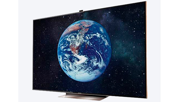 """PHOTO: The Samsung 75"""" TV is seen here in this undated handout photo."""