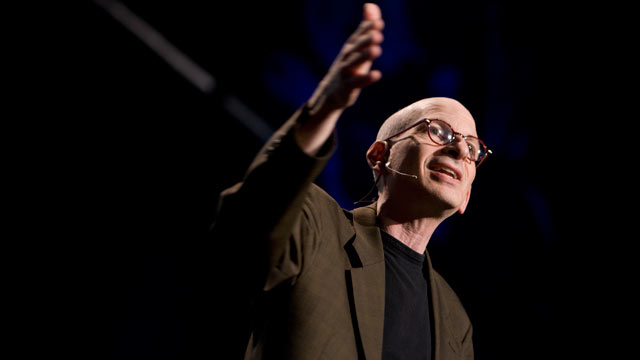 PHOTO: Seth Godin speaks at TED2009.