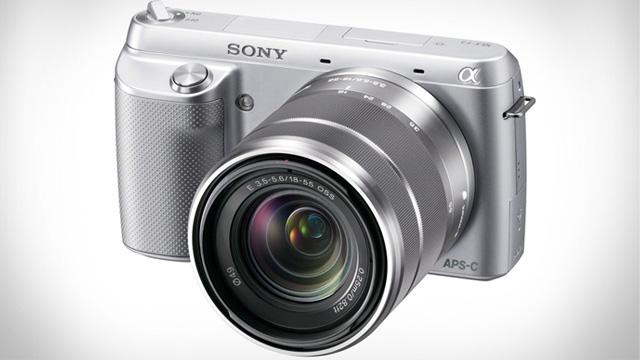 PHOTO: Sony Alpha NEX-F3