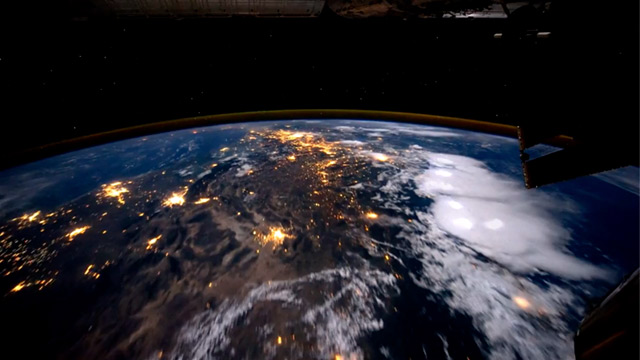 PHOTO: Earth as seen from the International Space Station