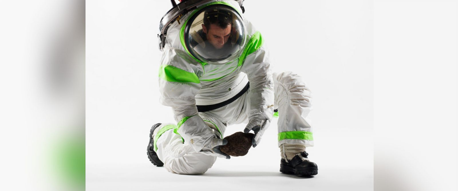 PHOTO: Pictured is NASAs 2012 Z-1 space suit.