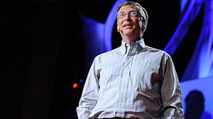 PHOTO: Bill Gates in Session 6: Knowledge Revolution at TED2011, in Long Beach, CA.