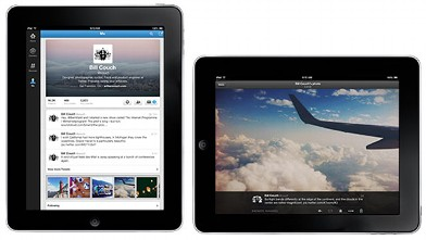 PHOTO:Twitter introduced a redesigned iPad app and header photo option, Sept. 18, 2012.