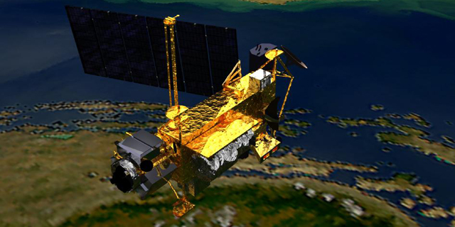 PHOTO:Upper Atmosphere Research Satellite