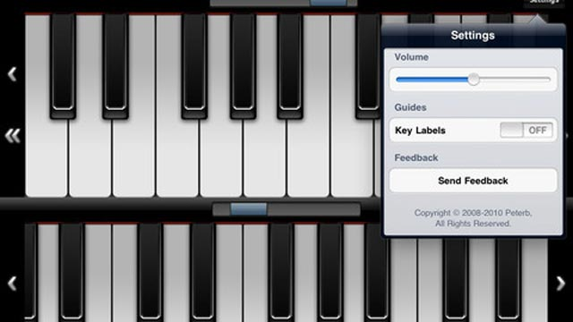 PHOTO: Virtuoso turns your iPad into a piano.