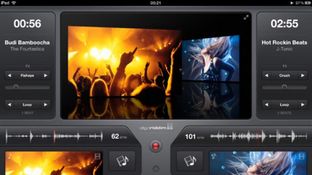 PHOTO: Vjay lets you create video and music mashups on the iPad.