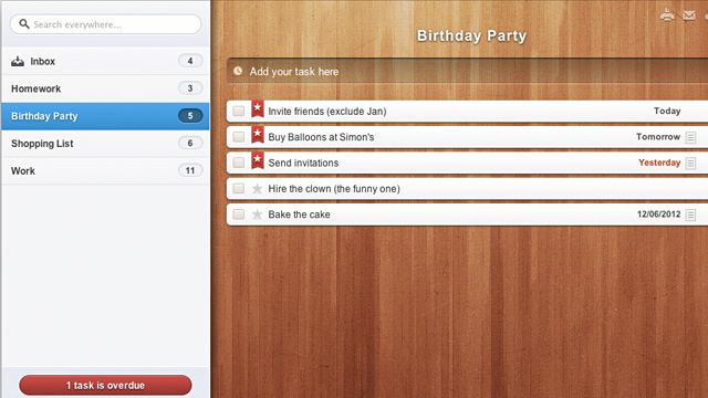 PHOTO: Best to do list apps