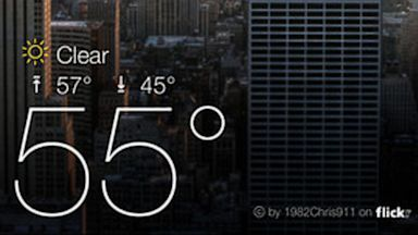 PHOTO: Yahoo Weather is available for the iPhone and Android.