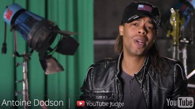 PHOTO: Google enlisted famous YouTube stars, like Antoine Dodson, to announce the closing of YouTube on April 1, 2013.
