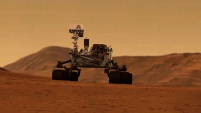 VIDEO: The Sample Analysis on Mars prepared a little birthday gift for the Curiosity rover.