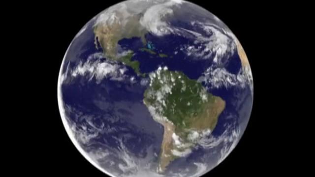 VIDEO: NOAAs GOES satellites capture storm as it develops, intensifies and makes landfall.