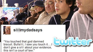 Photo: Twitter: S**t My Dad Says