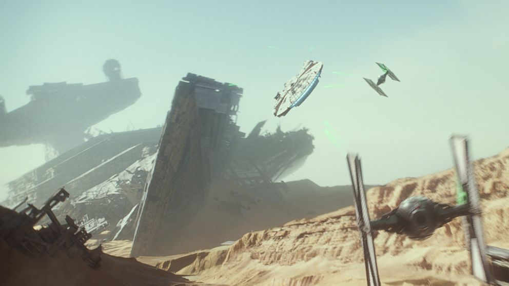 'Star Wars: The Force Awakens' Will Be Screened in Space
