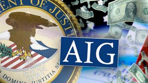 IMAGE: DOJ and AIG