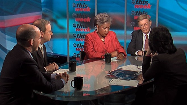 VIDEO: George Will, Donna Brazile, Matthew Dowd and Ron Brownstein.