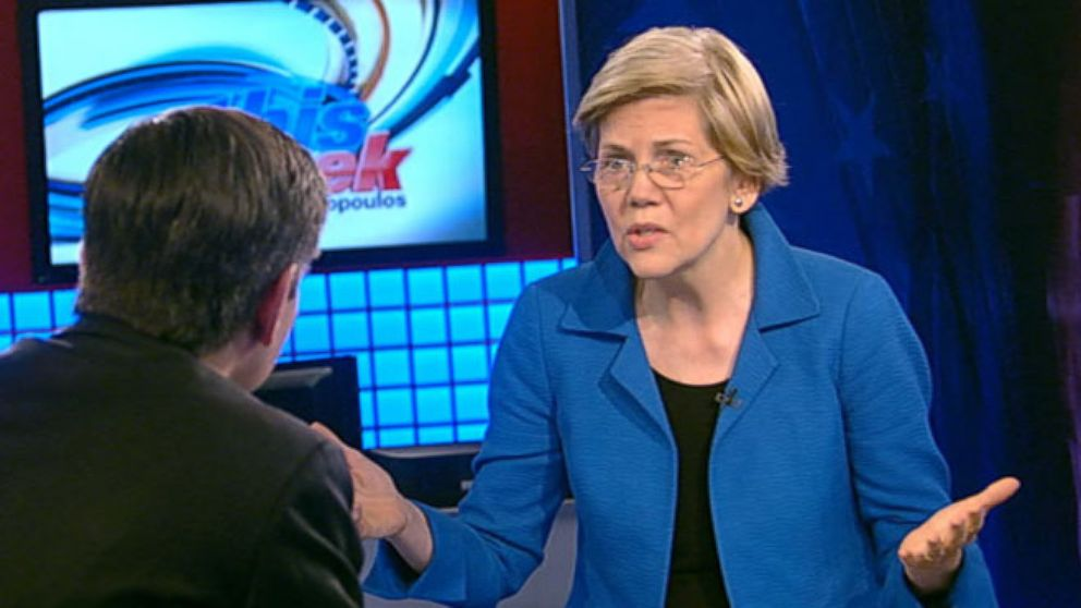 VIDEO: This Week: Sen. Elizabeth Warren