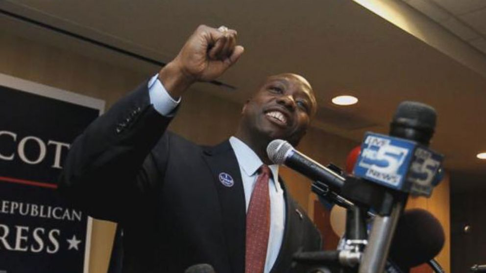 VIDEO: ABC News Jeff Zeleny goes one-on-one with Sen. Tim Scott, South Carolinas first African American senator since Reconstruction.