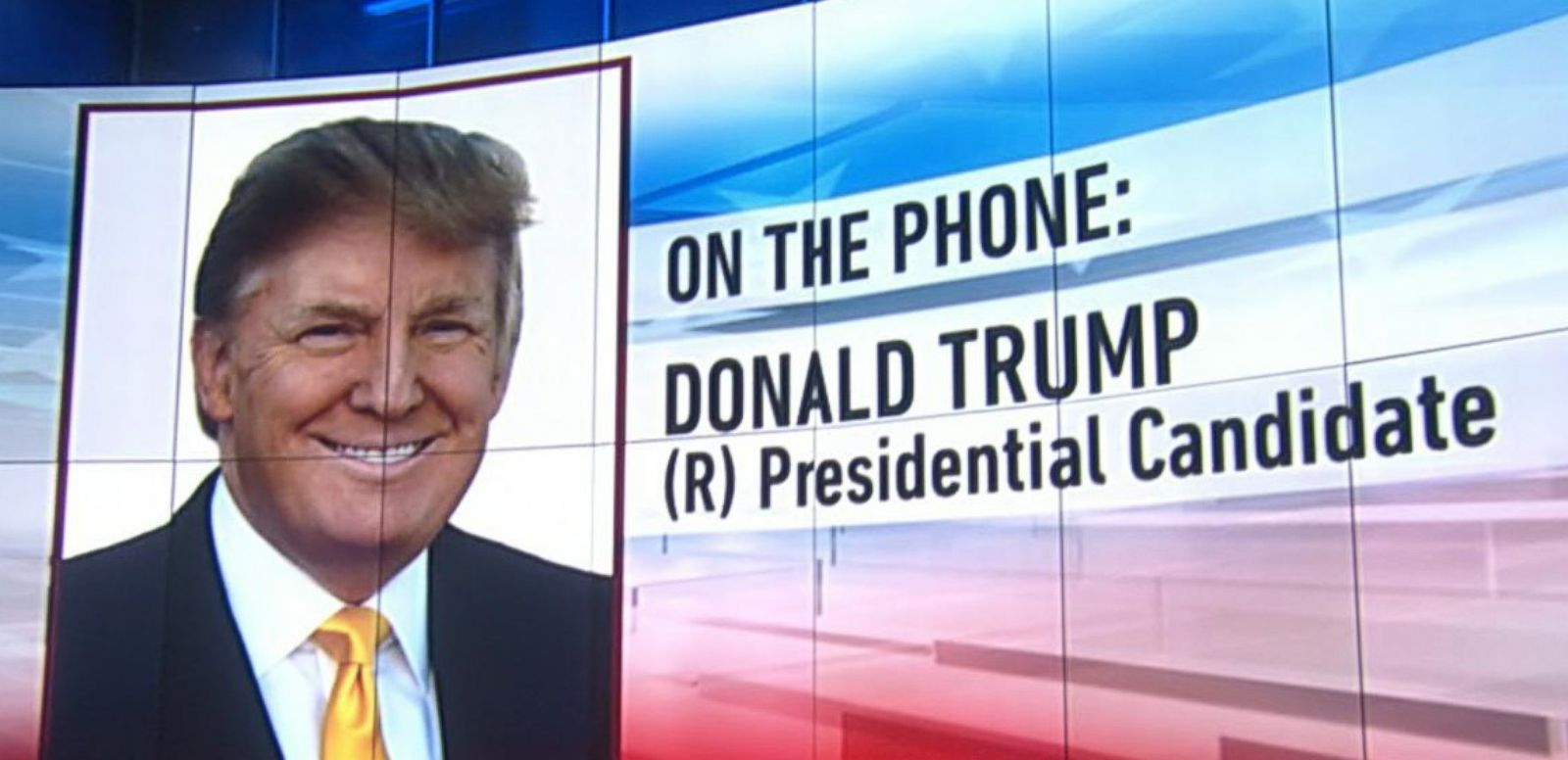 VIDEO: Donald Trump Says He Would Bring Back Waterboarding
