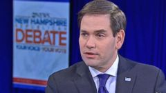 VIDEO: Sen. Marco Rubio on GOP Debate and New Hampshire Primary