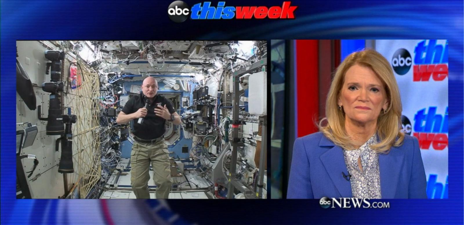 NASA's Scott Kelly Explains What It's Like to Sleep in Space