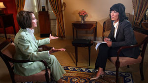 """This Week"" host Christiane Amanpour interviews Speaker of the House Nancy Pelosi."