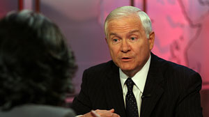 """This Week"" host Christiane Amanpour interviews Defense Secretary Robert Gates."