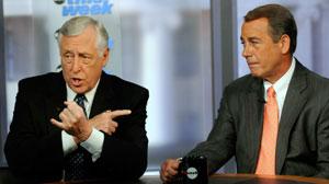 House leaders John Boehner and Steny Hoyer on This Week.