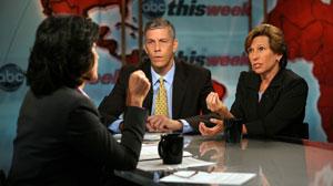 "Arne Duncan and Randi Weingarten discuss education reform on ""This Week."""