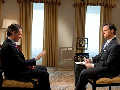 Jake Tapper sits down with Treasury Secretary Timothy Geithner