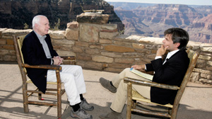 PHOTO Our exclusive headliner Senator John McCain talks about his recent visiting with Marines in Iraq and Afghanistan in a special edition of ?This Week with George Stephanopoulos?