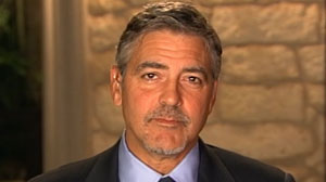 PHOTO Actor and activist George Clooney speaks with Jake Tapper Sunday, January 2, 2011.