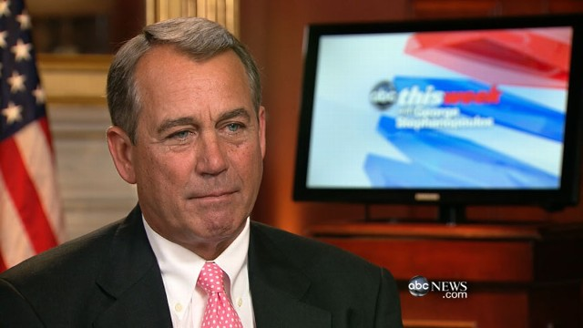 VIDEO: The House speaker on the debt limit debate and Mitt Romneys campaign.