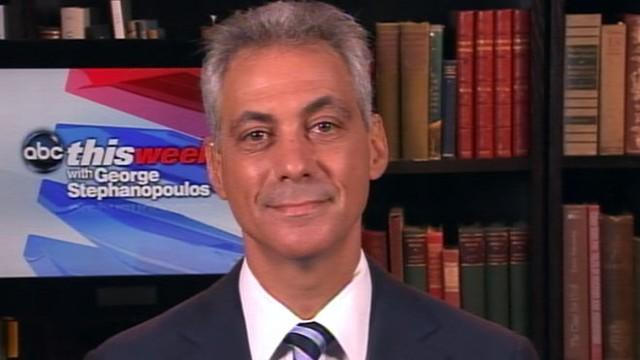 VIDEO: The Chicago mayor on election debates over tax returns and outsourcing.
