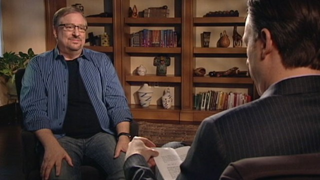 VIDEO: Pastor Rick Warren on racism and reconciliation.