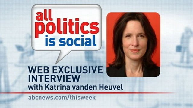 VIDEO: This Week Web Extra: Katrina vanden Heuvel