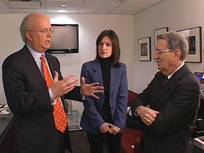 VIDEO: Karl Rove, Stan Greenberg, Katrina vanden Heuvel and George Will debate.