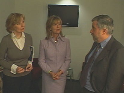 VIDEO: Backstage with Paul Krugman, Peggy Noonan, Michael Eric Dyson and Kathleen Parker.