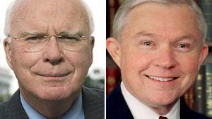 Photo: This Week headliners Sens. Patrick Leahy and Jeff Sessions