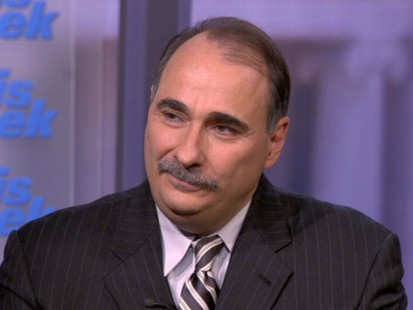 """VIDEO: David Axelrod on """"This Week"""""""
