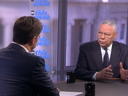"VIDEO: Colin Powell on ""This Week"""