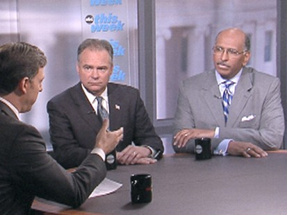 """VIDEO: Chairmen of the DNC and RNC on """"This Week"""" react to Tuesdays primaries."""