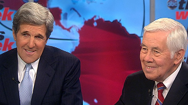 Senator Kerry and Lugar on START