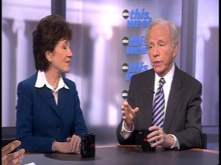 Sen. Lieberman on This Week with George Stephanopoulos.