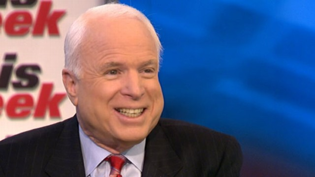 VIDEO: Sen. McCain discusses immigration reform and foreign policy challenges.