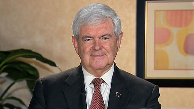 VIDEO: Former Speaker Gingrich questions Romneys honesty and character.